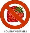 NO STRAWBERRIES