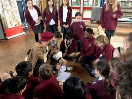 Year 6 took part in an outreach workshop run by Westminister Abbey