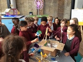 Year 3 went to Alexandra Palace to take part in an inventions workshop