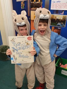<br>Celebrating World Book Day ~<br>WE LOVE READING