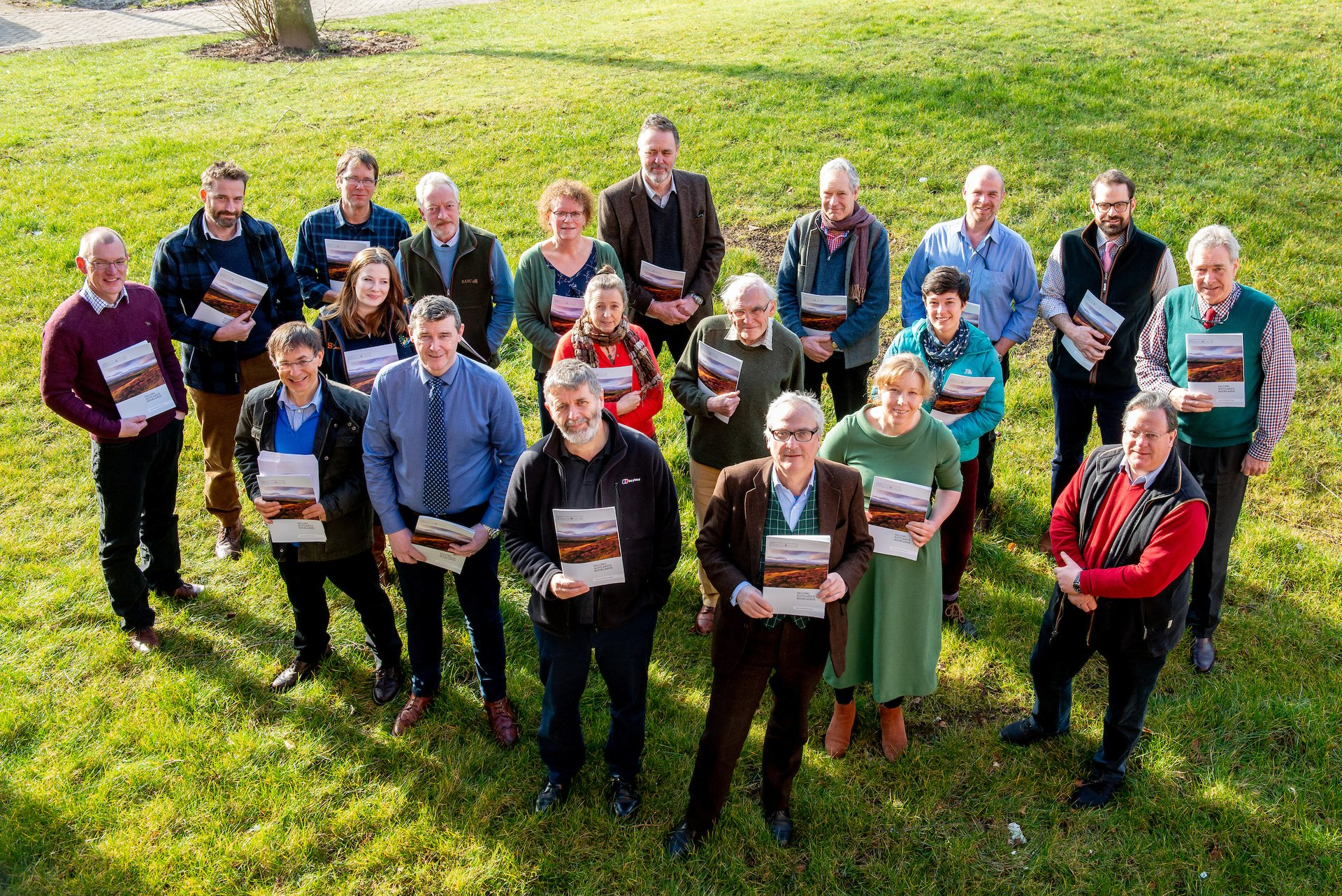 Members of Scotland's Moorland Forum launch the Valuing Scotland's Moorlands Report - 6 March, 2020