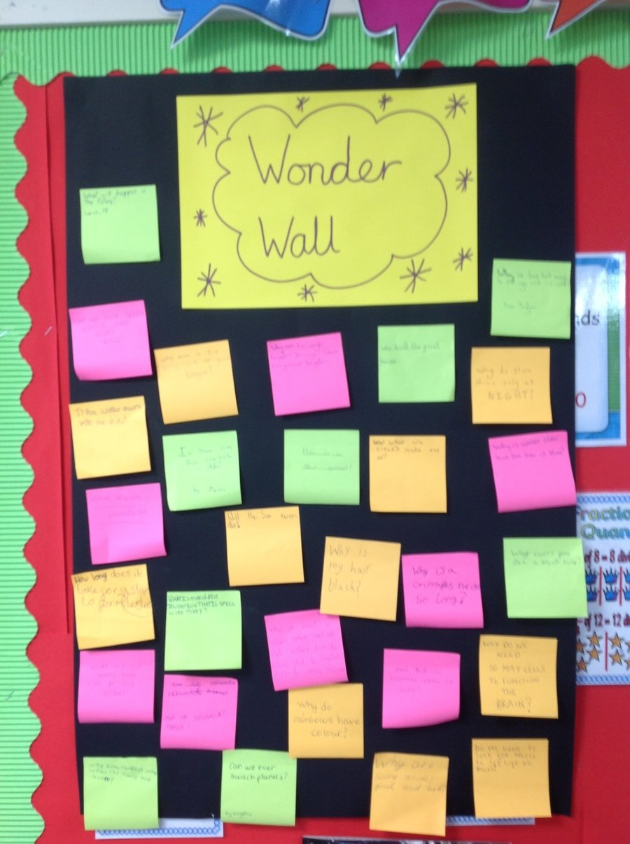 Year 5's Wonder Wall