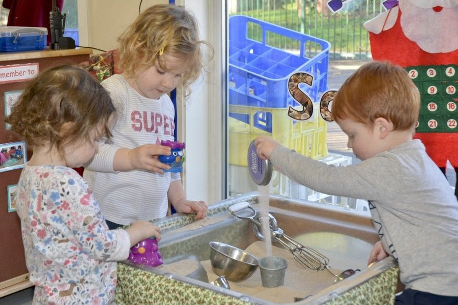 """ There is always a variety of activities ready for the children each day.""   Daynurseries.co.uk"
