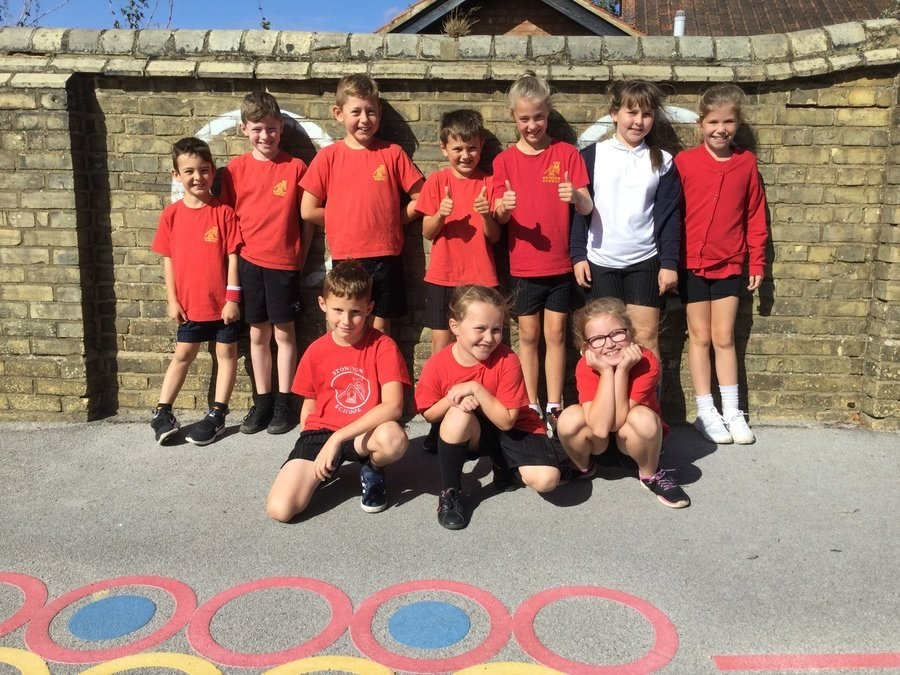 Our Year 4 Sports Ambassadors