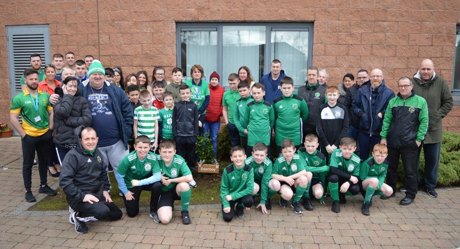 St. Patrick's Day Celebrations 'Wear Green for Seanboy'