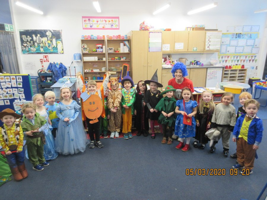 World Book Day 2020 Foundation & Reception