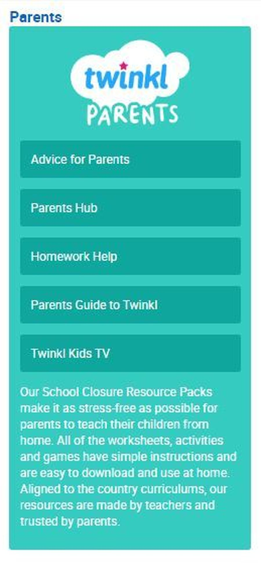 Find printable resources by clicking here