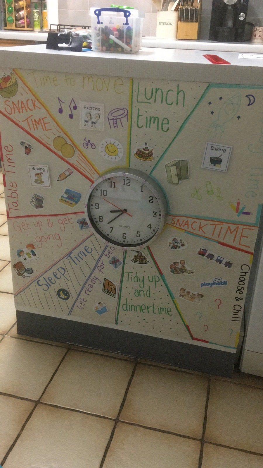 We love seeing your timetables, here is a great example that you may take inspiration from!