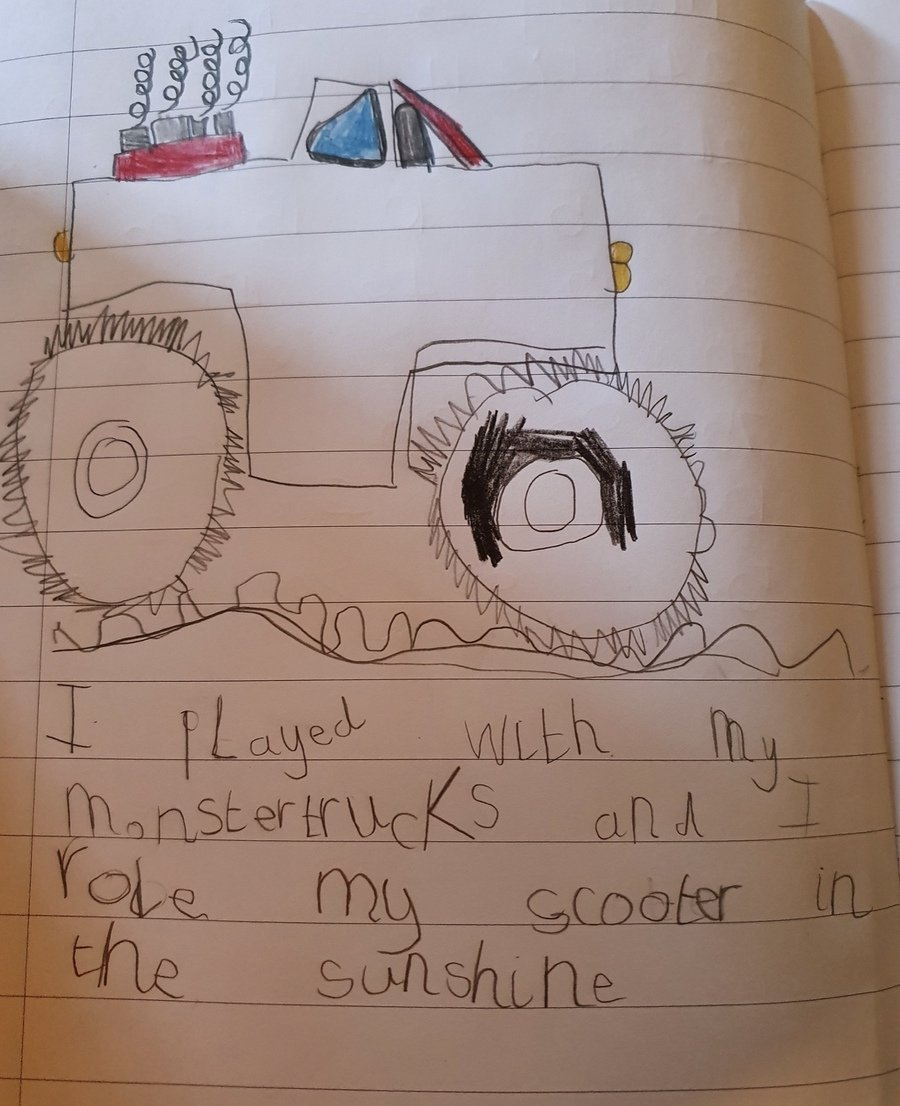 Great pictures too Tate and Ionie - Mrs P