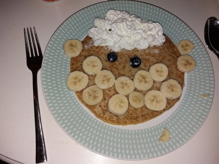 Devon has been busy making pancakes. How delicious does this look!