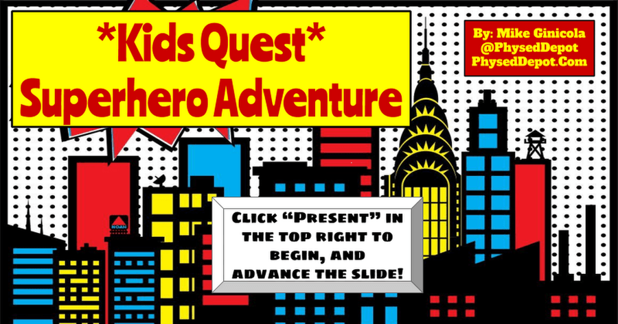 Extra PE sessions with KIDS QUEST. Do you dare to defeat the monster with your superhero powers?