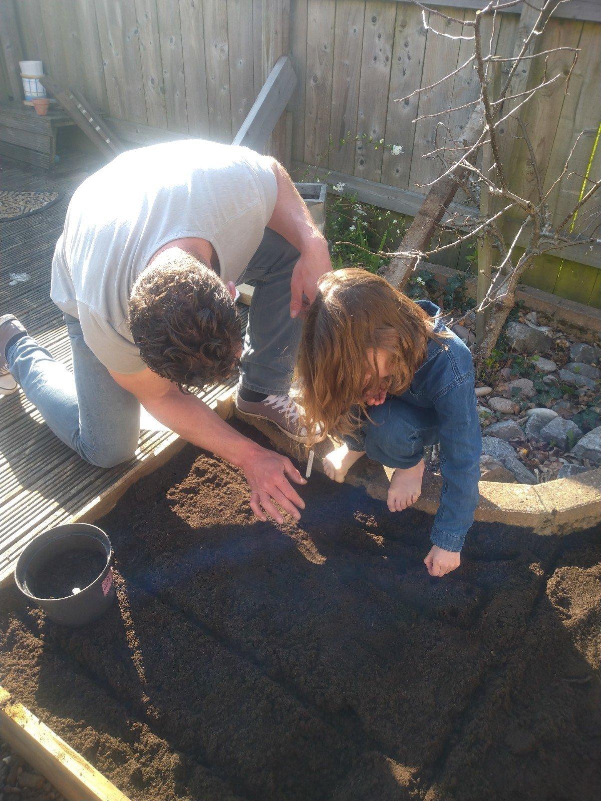 Rosie planting