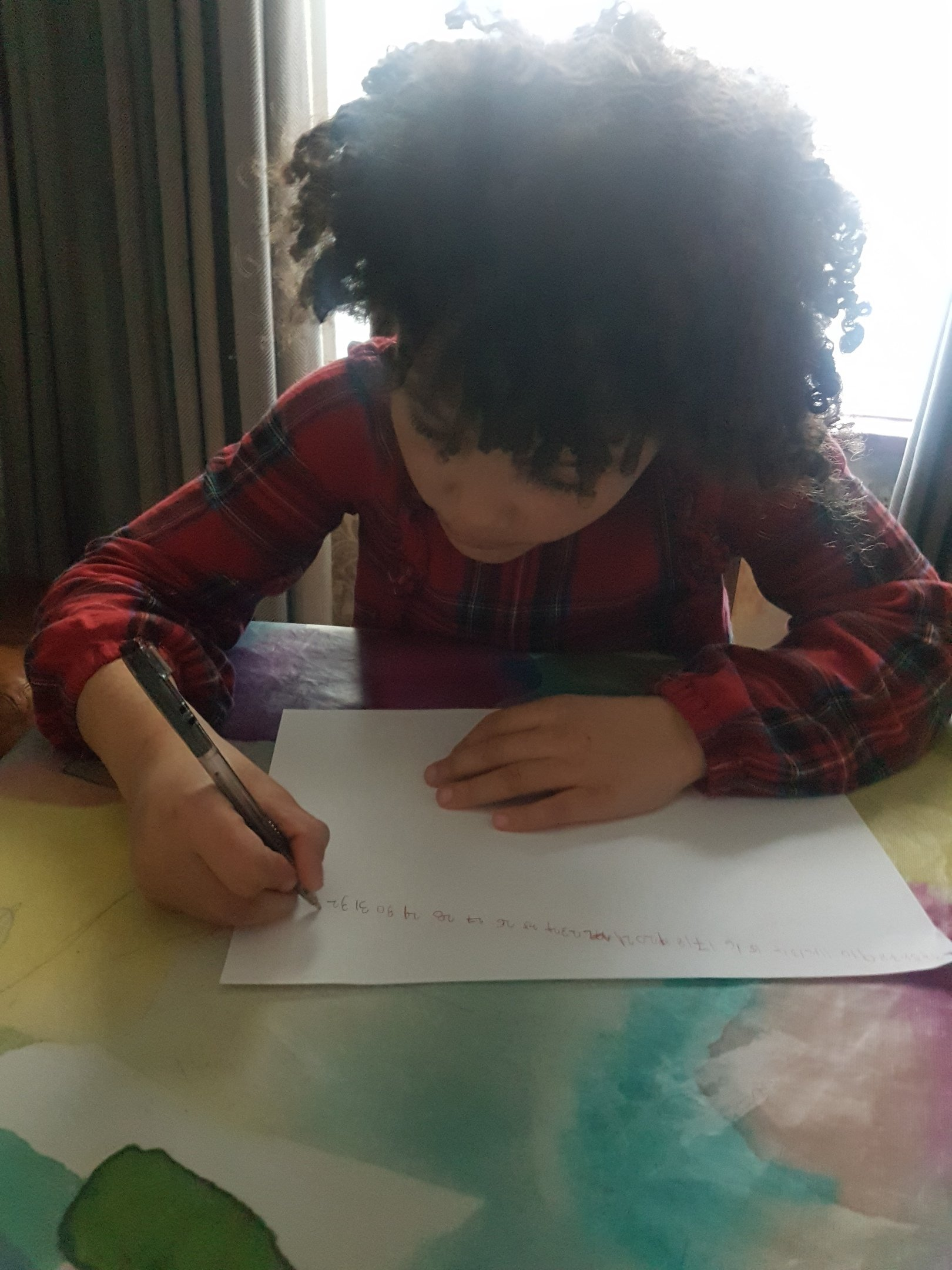 Myla writing