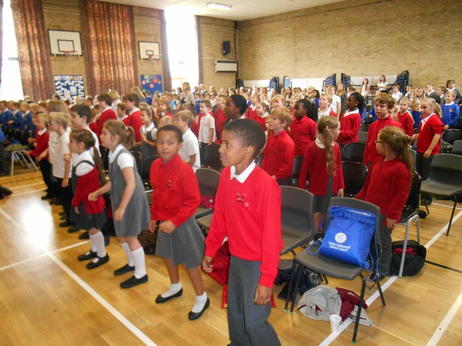 Singing at Gilberts
