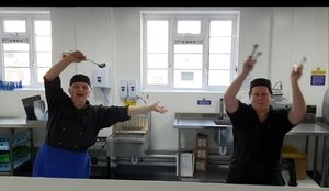Week 1: Dancing in the Coombe Road kitchen!