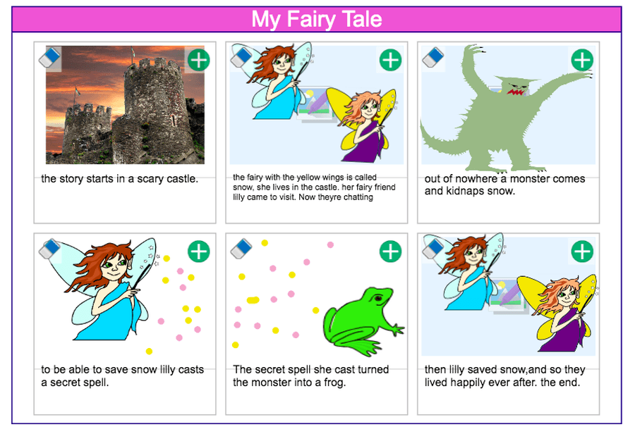A super fairy tale by Willow!