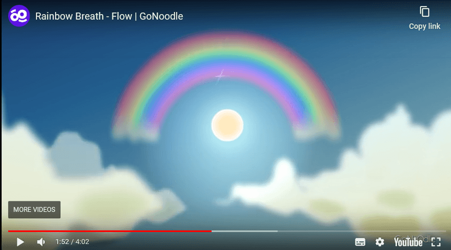 Start your day with some Rainbow Breathing!