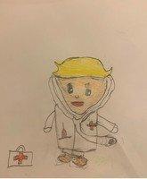 An NHS worker by Alfie