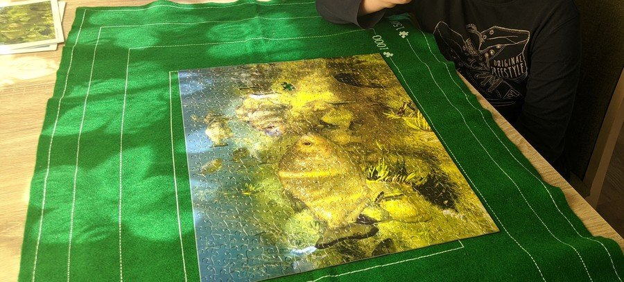 Look at this amazing jigsaw Olly has completed at home! Wow! Well done, Olly!