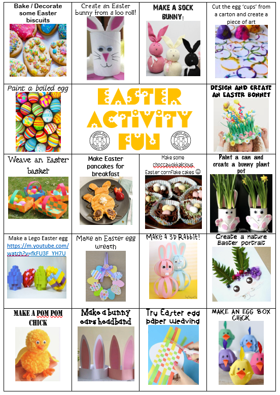 Coppice Easter Activities