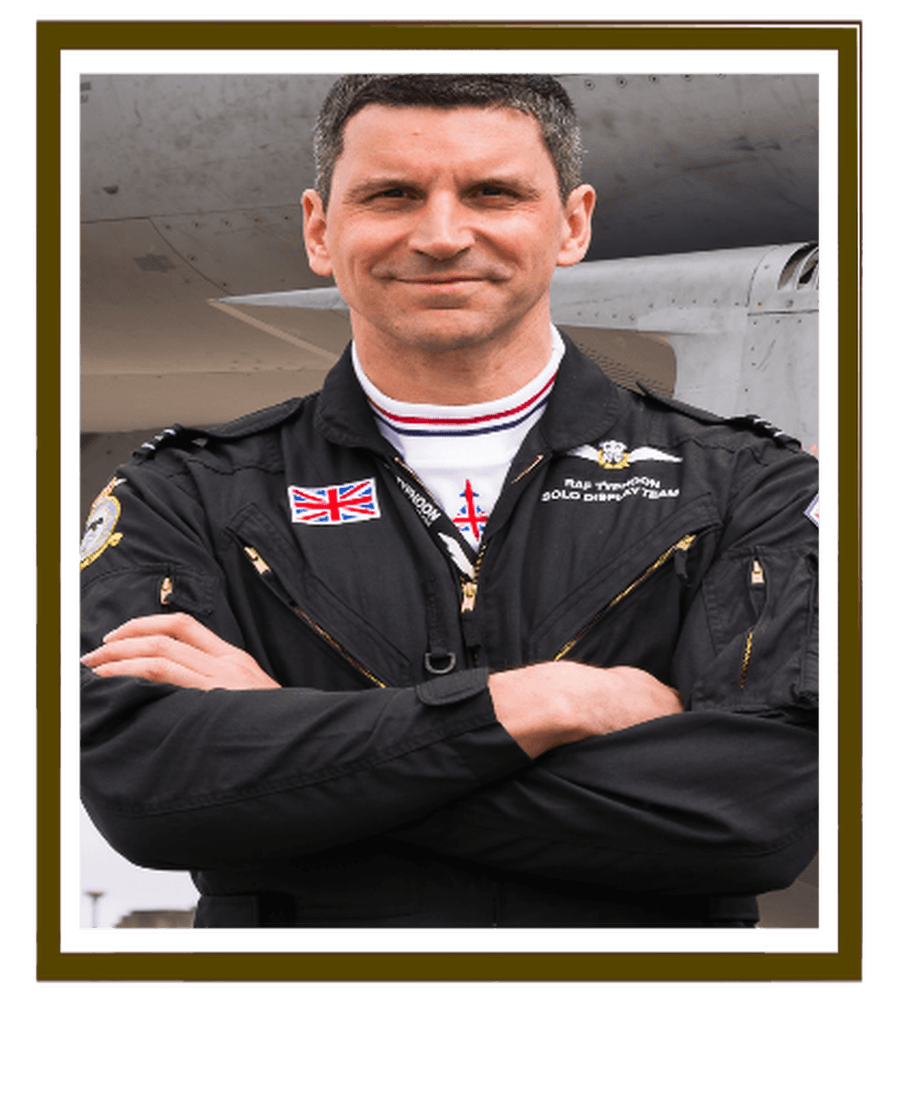 Click on picutre to see Flt Lt Jim Peterson's inspirational video