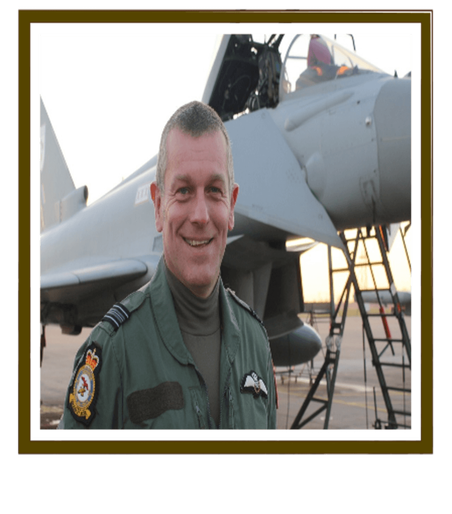 Click on picutre to see Sqdn Ldr Ian Smith Ret. (Smithy) inspirational video
