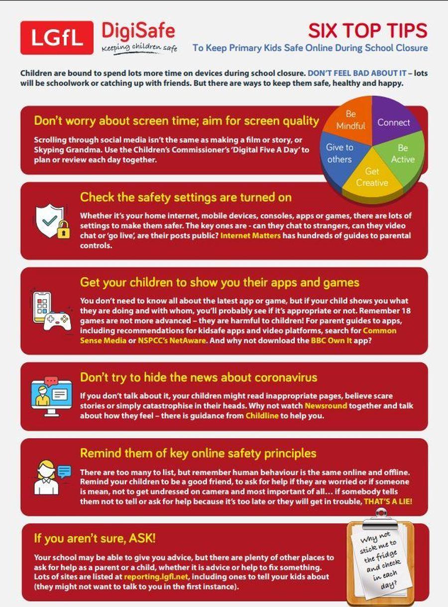 Six top tips