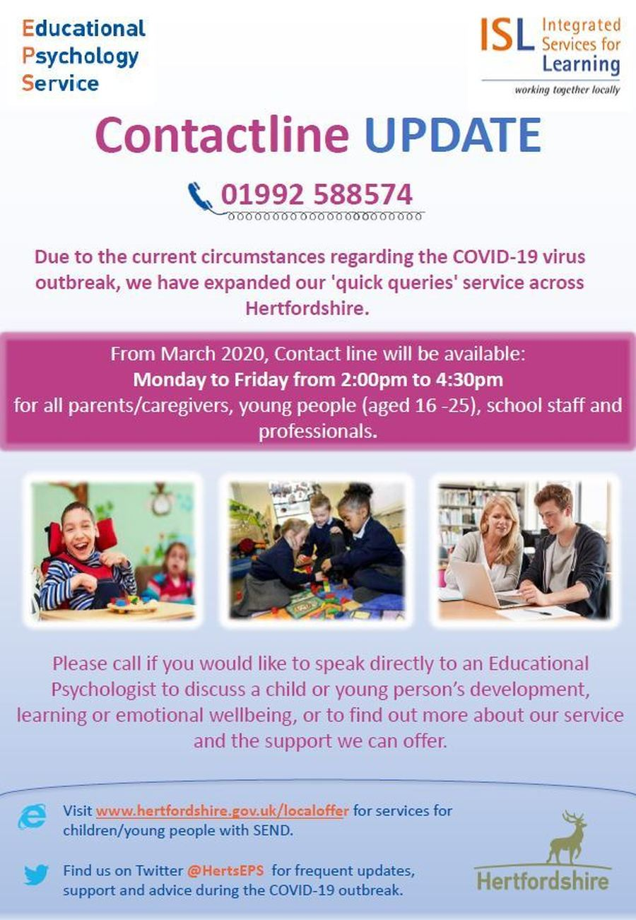click here to access services for children/young people with SEND