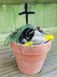 Thomas J's Easter Garden