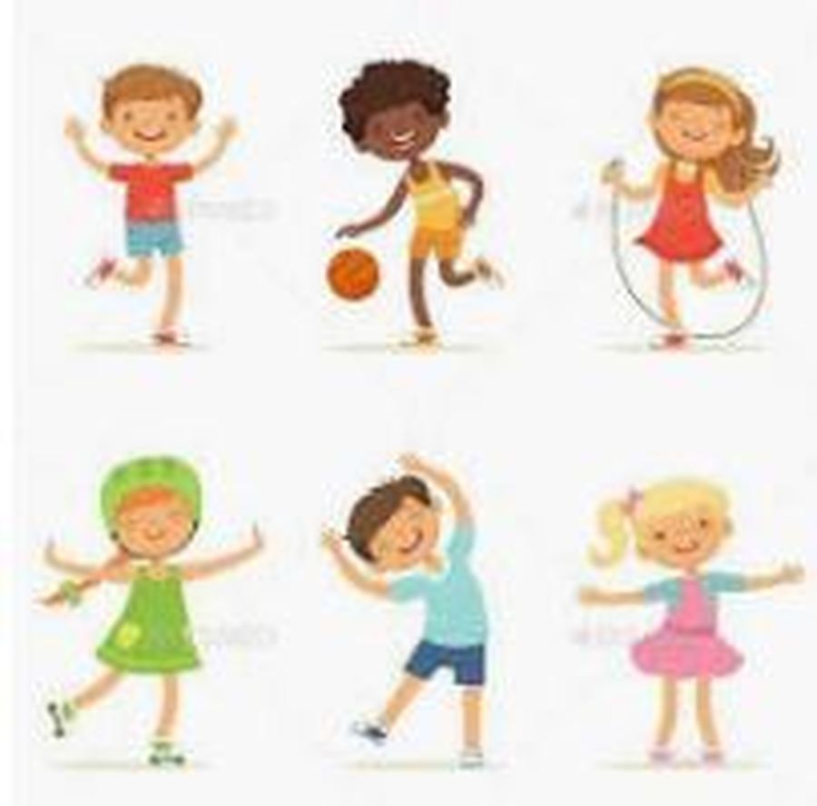Click for links to physical activity clips and links
