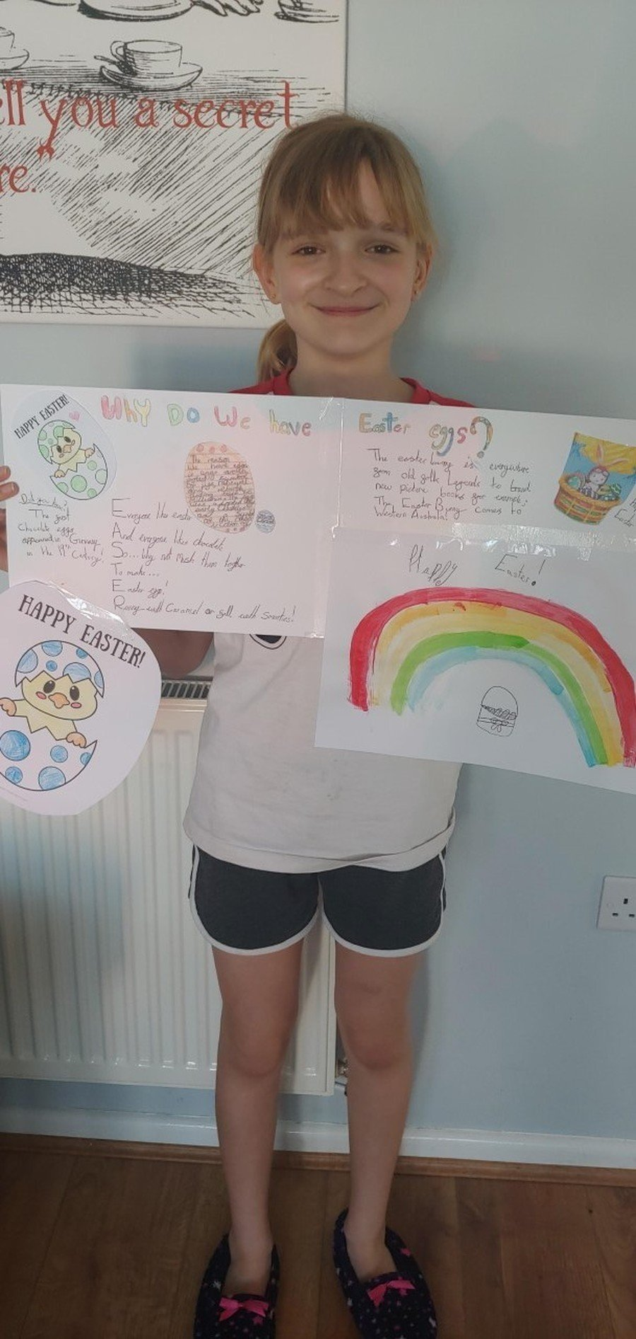 Emily (Y6) Easter homework-Why do we have Easter Eggs?