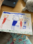 Ellie's picture of her family