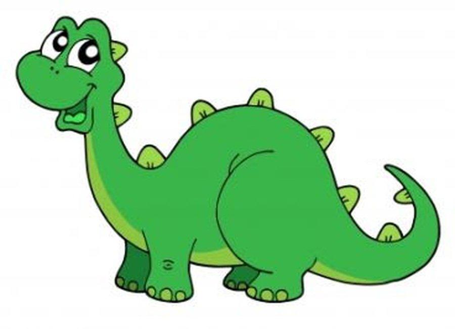 Click on the dinosaur!