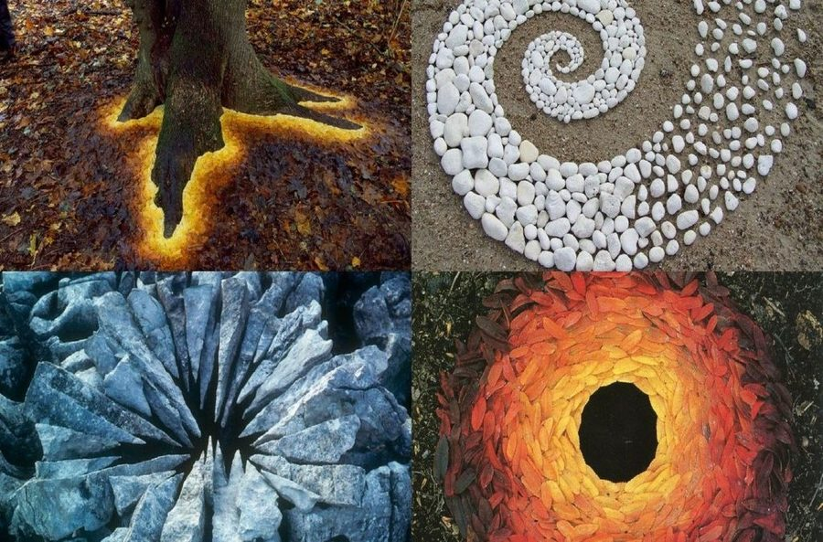Andy Goldsworthy Land Art