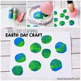 Balloon Print Earth