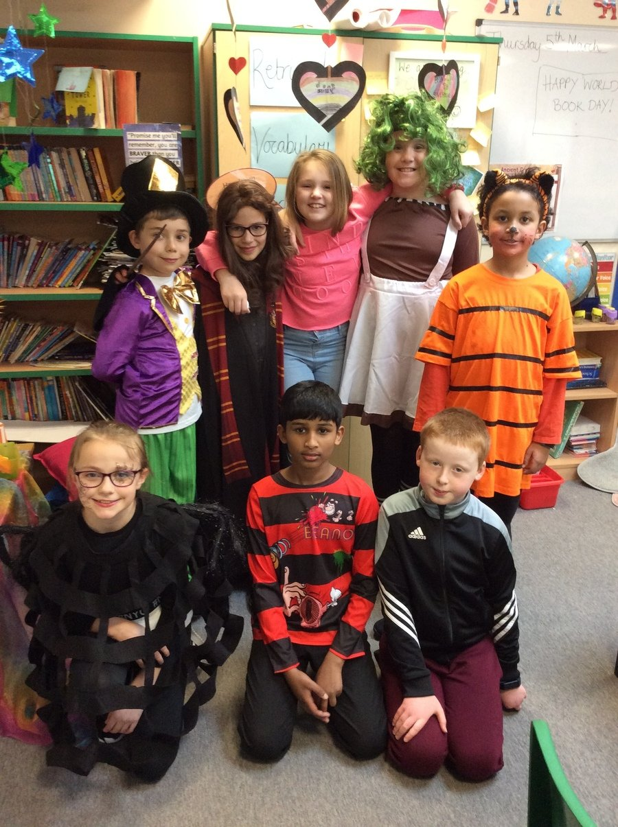 Book Day 2020- Everyone looked amazing!