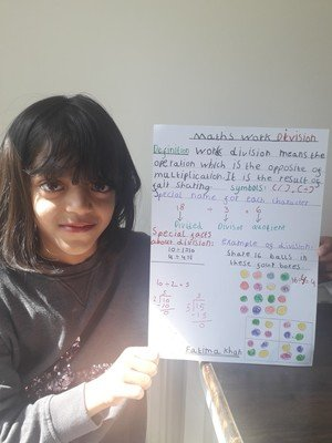 Fatima's division poster