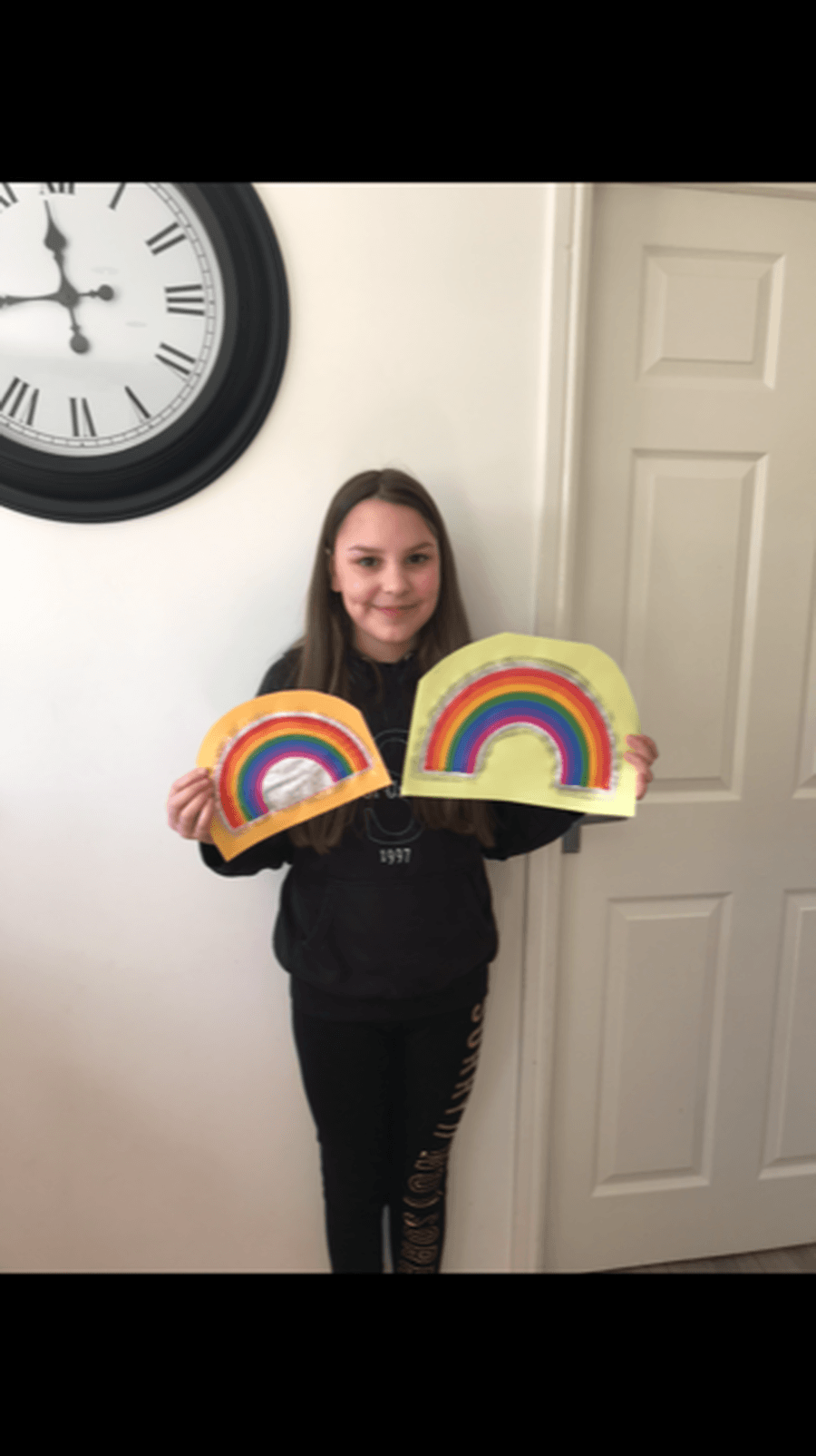 Memmi with her beautiful rainbows!