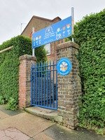 Week 4: How about a lovely bright gate to welcome our children back when it's safe?