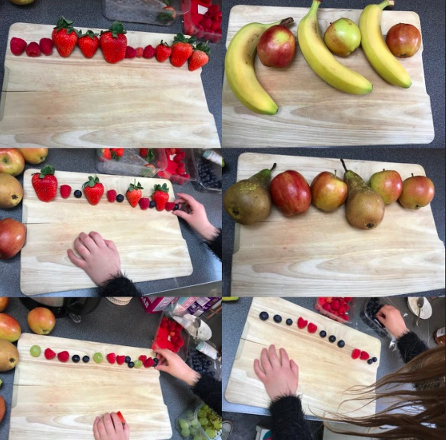 Amazing repeating patterns by Ellie!