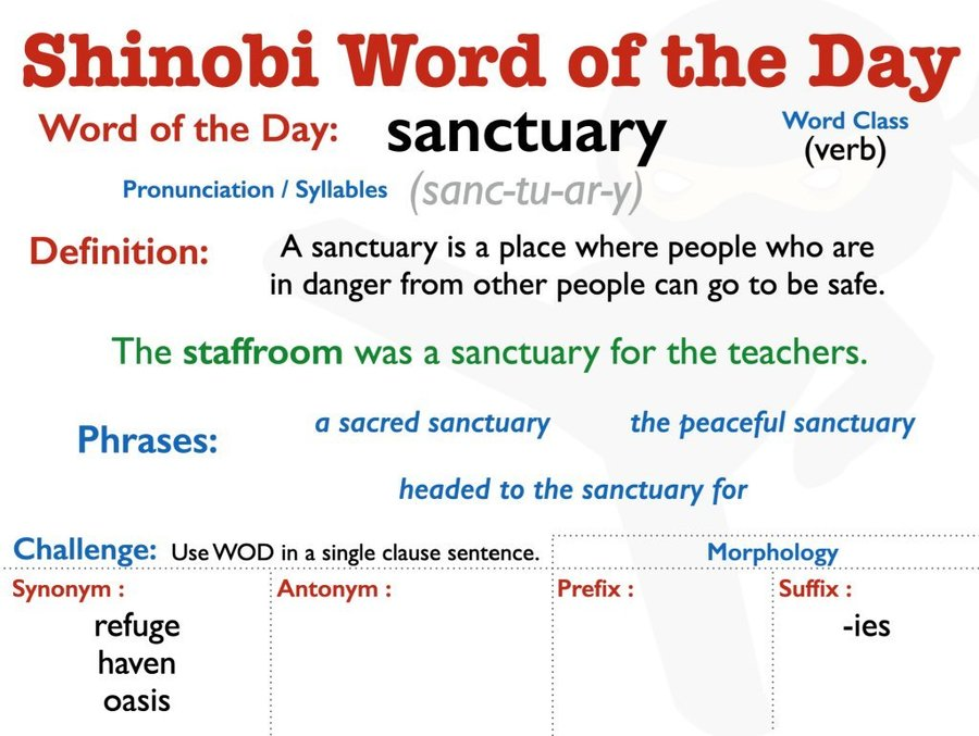 Y5/Y6 Word of the Day 21/04/20