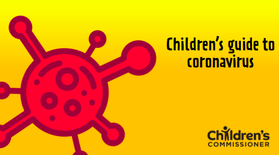 Click here for a book to help explain coronavirus to children.