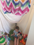 Corinne's reading den