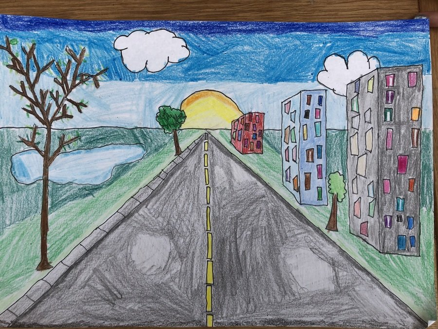 Darci Year 5 perspective art