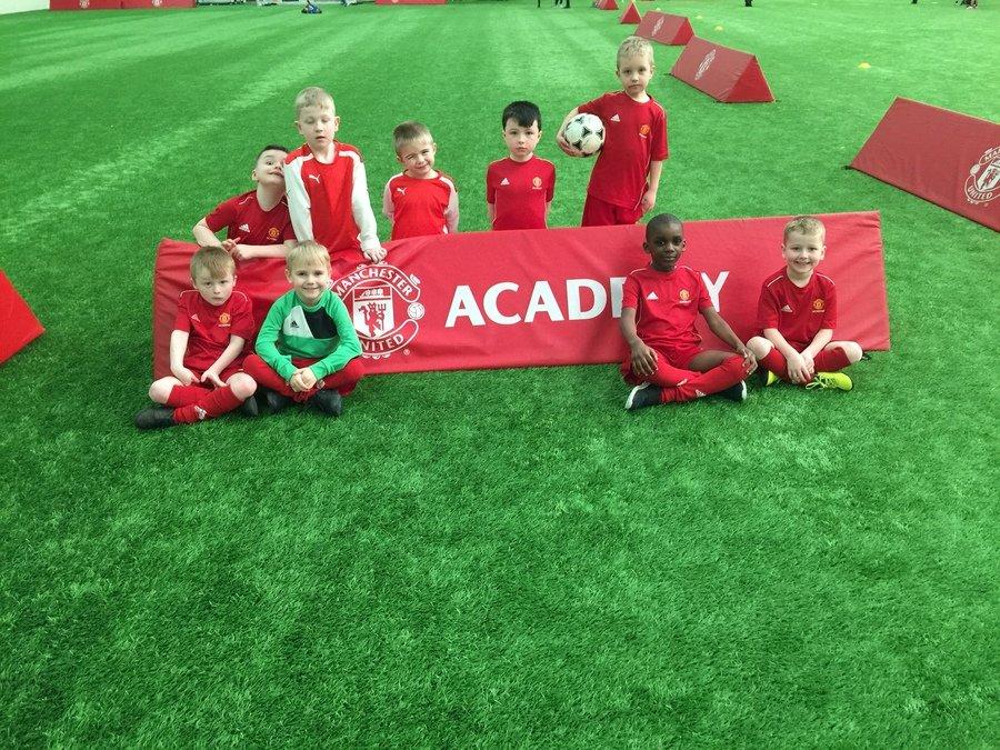Year 1 Boys Football Team at MUFC