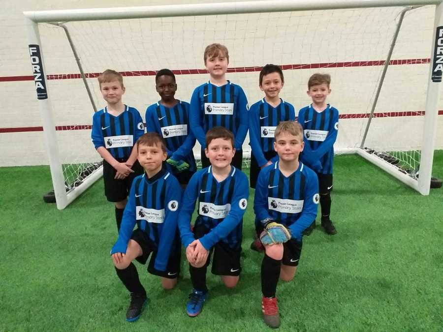 Year 3/4 Boys Football Team at MUFC