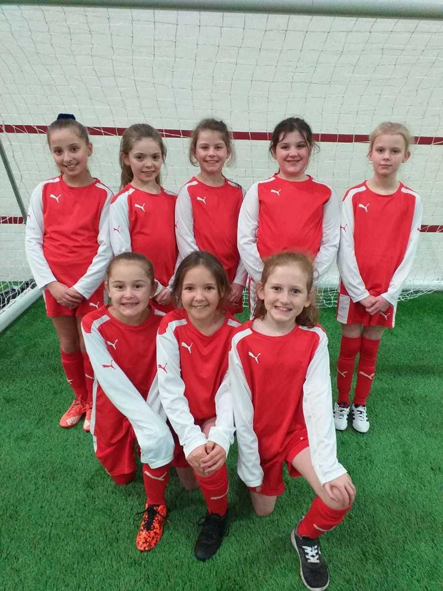 Year 3/4 Girls Football Team at MUFC