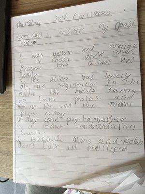 Scarlett'swriting