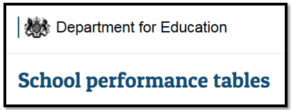 Image result for school performance tables