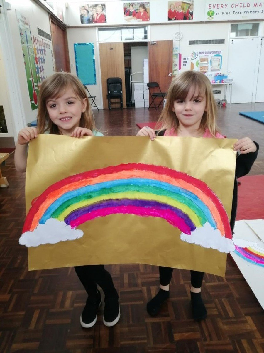 Theia & Elara - Reception. Rainbows.